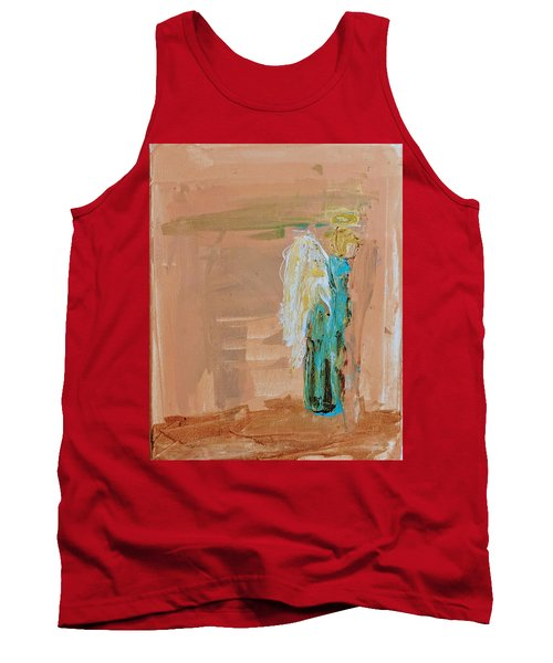 Angel Boy In Time Out  Tank Top