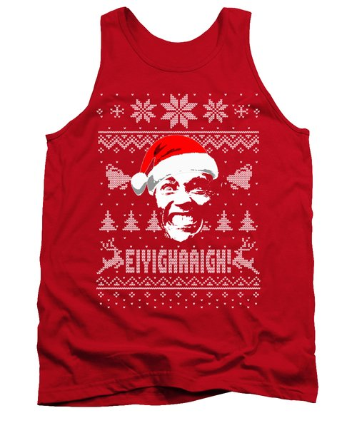 Arnold Schwarzenegger Christmas Shirt Tank Top