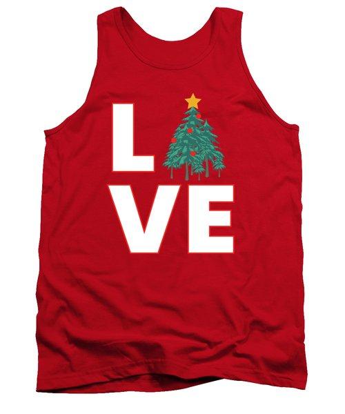 Love Christmas Tank Top
