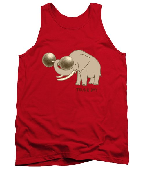 Trunk Day Tank Top