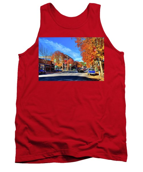 Tank Top featuring the photograph Autumn In Pullman by David Patterson