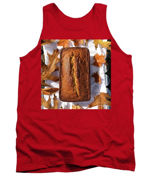 Banana Bread With Rum, Ginger And White Whole Wheat Tank Top
