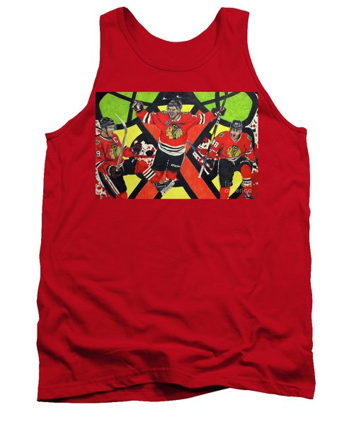 Blackhawks Authentic Fan Limited Edition Piece Tank Top