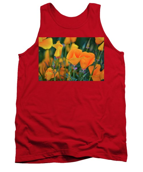 California Poppies Lake Elsinore Tank Top
