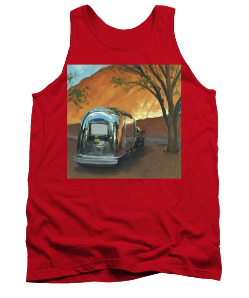 Camping At The Red Rocks Tank Top