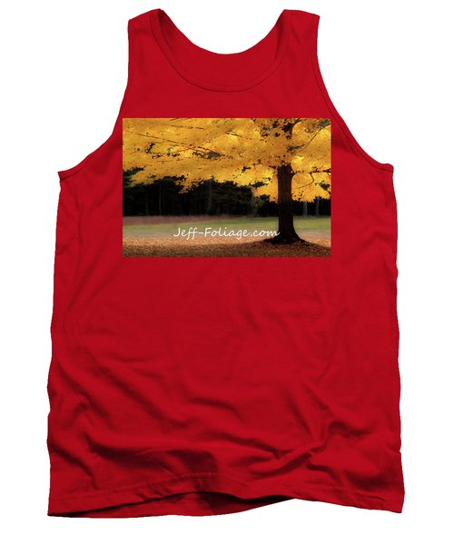 Canopy Of Gold Fall Colors Tank Top