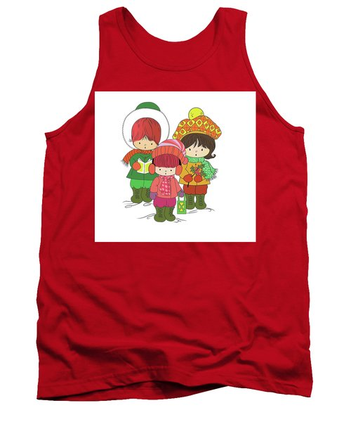 Christmas Angels Tank Top