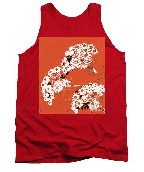 Chrysanthemum Ornamental Flowers Tank Top