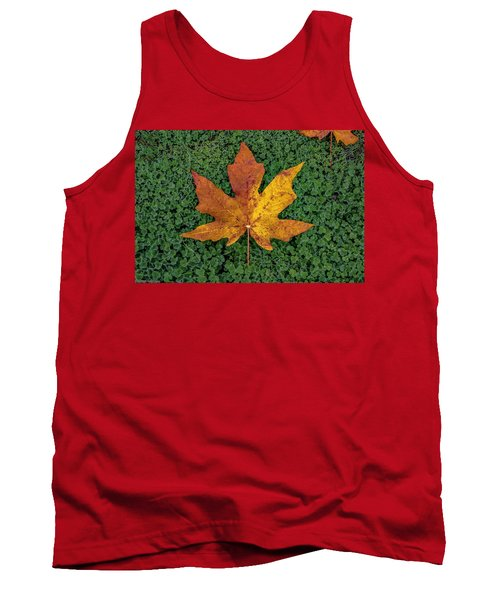 Clover Leaf Autumn Tank Top