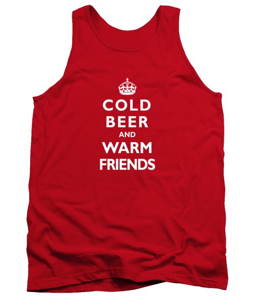 Cold Beer Warm Friends Tank Top