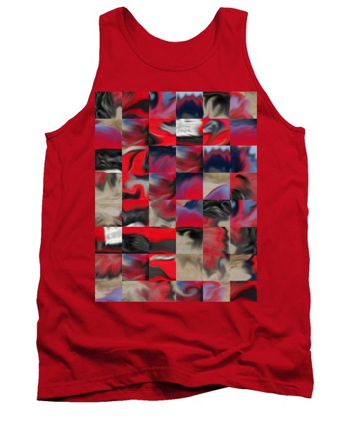 Coupe Rouge Tank Top
