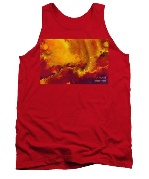 Daniel 6 27. He Delivers And Rescues Tank Top