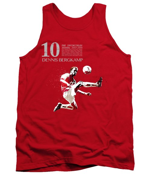 Dennis Bergkamp - Invincibles Arsenal Tank Top