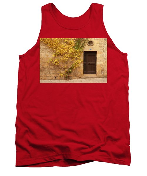 Doorway, Sarlat, France Tank Top