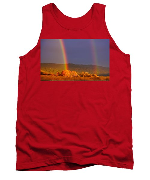 Double Gold Tank Top