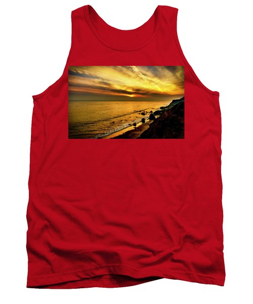 El Matador Beach Sunset Tank Top