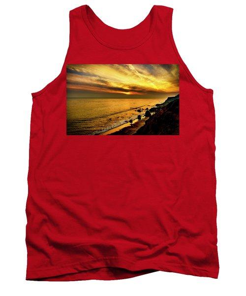 El Matador Beach Sunset Tank Top