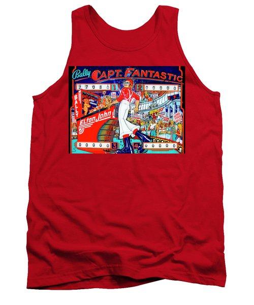 Elton John Pinball Wizard Tank Top