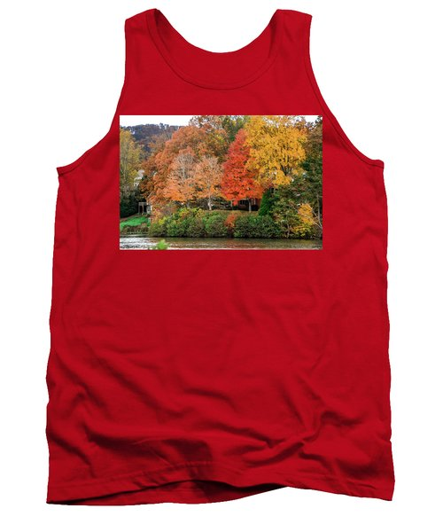 Fall At The Lake Tank Top