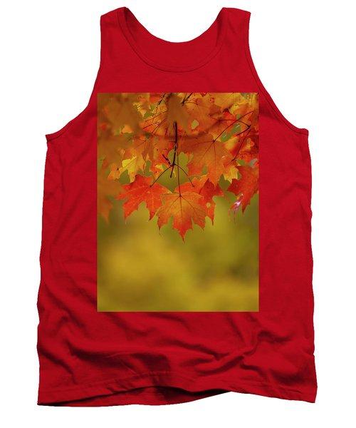 Fall Leaves Tank Top