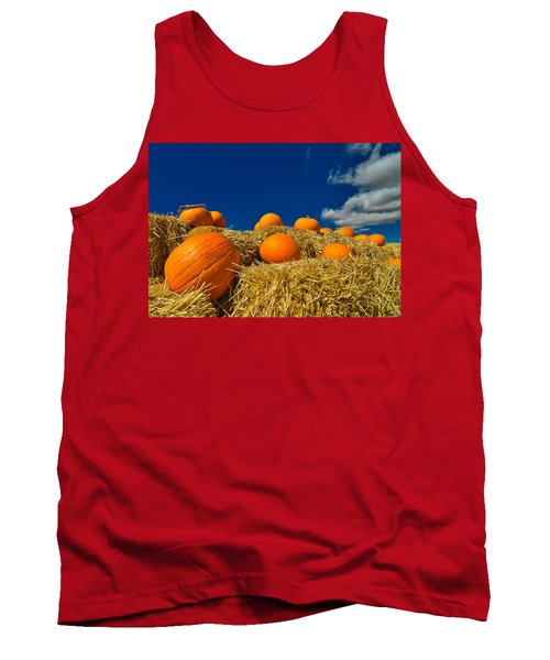 Fall Pumpkins Tank Top