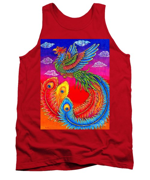 Fenghuang Chinese Phoenix Tank Top