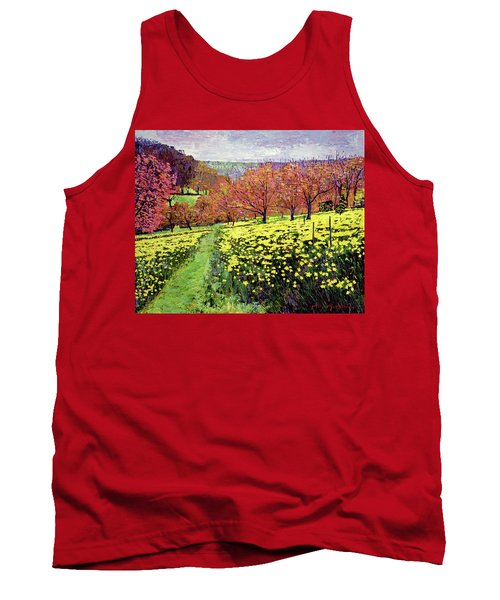 Fields Of Golden Daffodils Tank Top