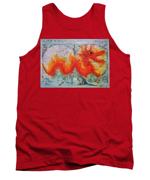 Fire Dragon  Tank Top