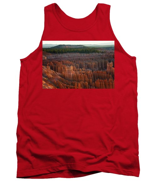 First Light On The Hoodoo Inspiration Point Bryce Canyon National Park Tank Top