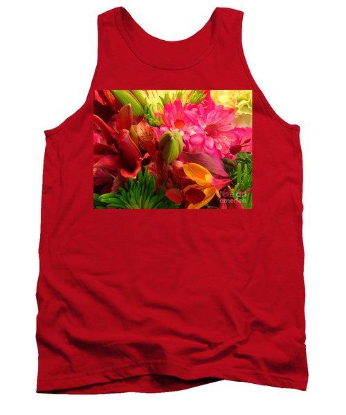 Flower Bunch Tank Top