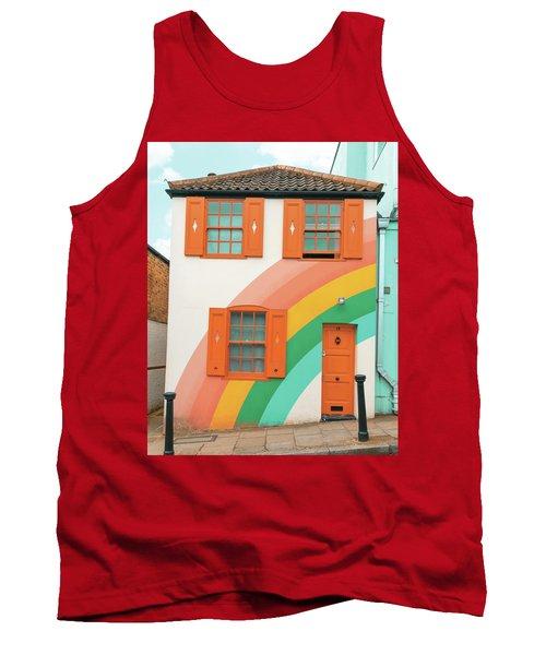 Funky Rainbow House Tank Top