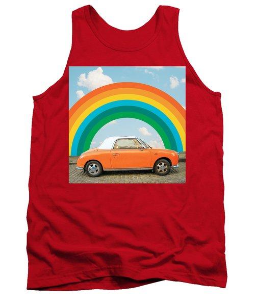 Funky Rainbow Ride Tank Top