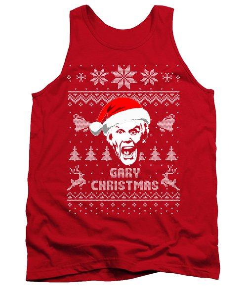 Gary Busey Christmas Shirt Tank Top