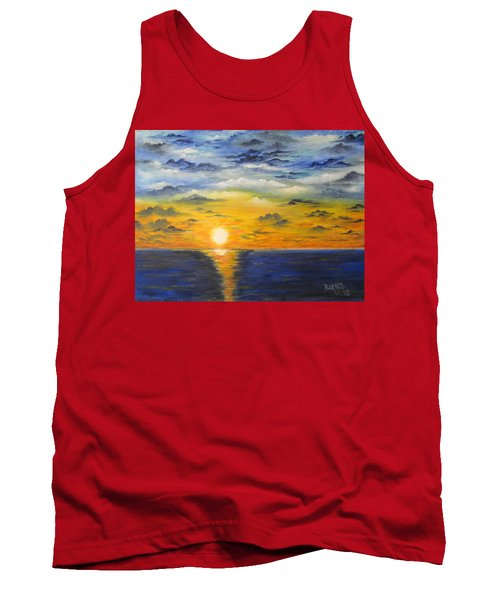 Glowing Sun Tank Top