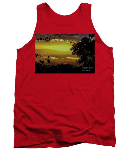 Golden Sunset On Strawberry Hill Tank Top
