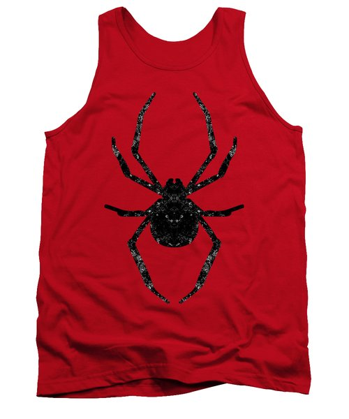 Halloween Spider  Tank Top