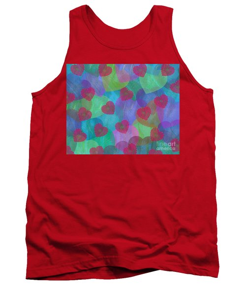 Hearts Aflame Tank Top