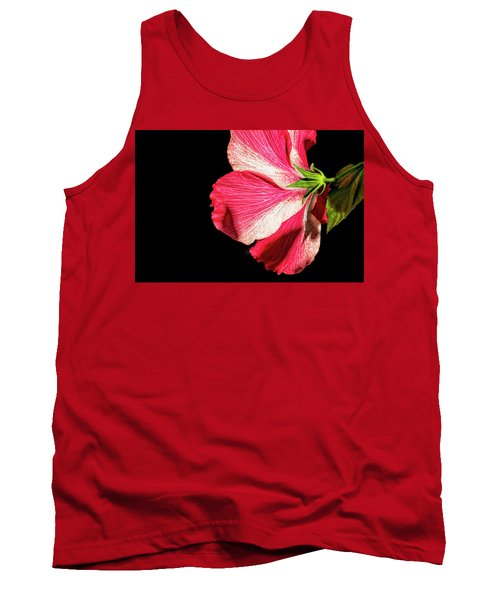 Hibiscus In Shadow Tank Top