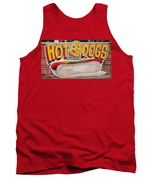 Hot Dogs Tank Top