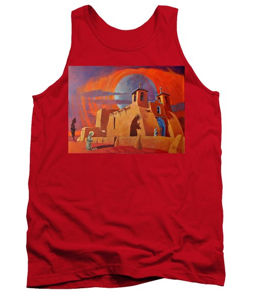 In The Shadow Of St. Francis Tank Top