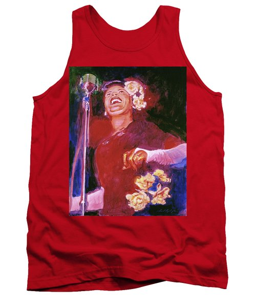 Lady Day - Billie Holliday Tank Top
