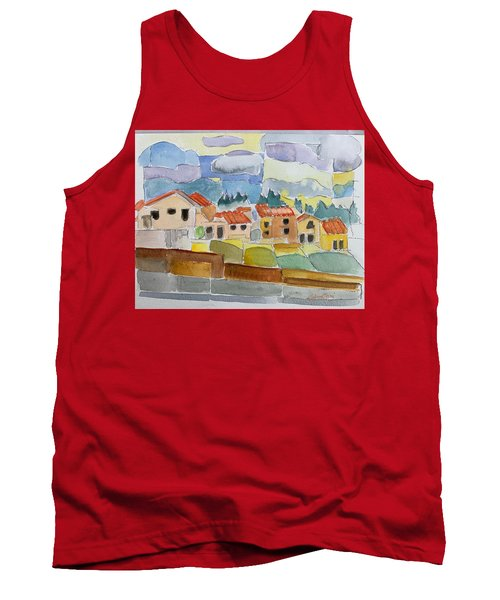 Laguna Del Sol Houses Design  Tank Top
