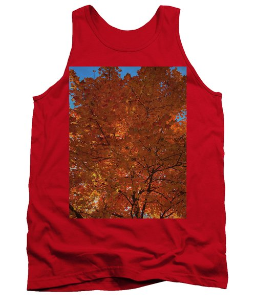 Leaves Of Fire Tank Top