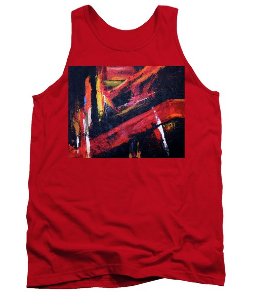 Lines Of Fire Tank Top
