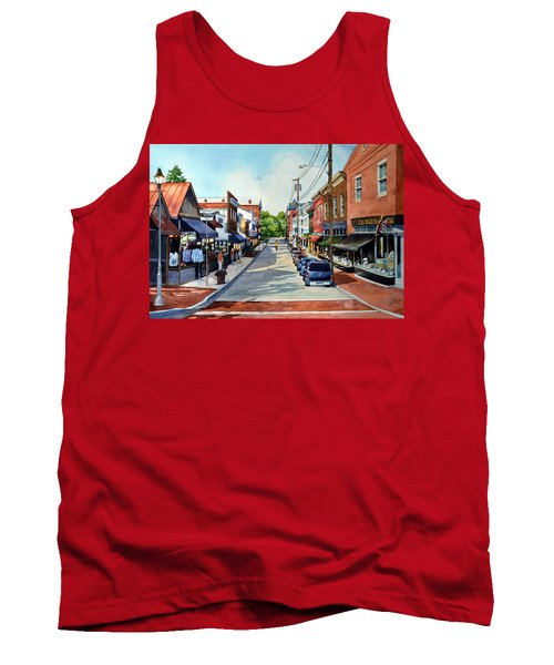 Long, Lonely Ride Tank Top