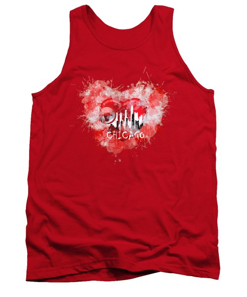 Love Chicago Colors Tank Top