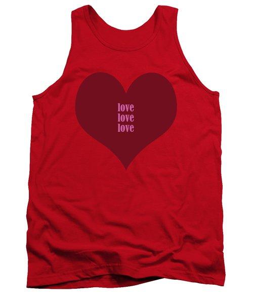 Love Love Love Tank Top