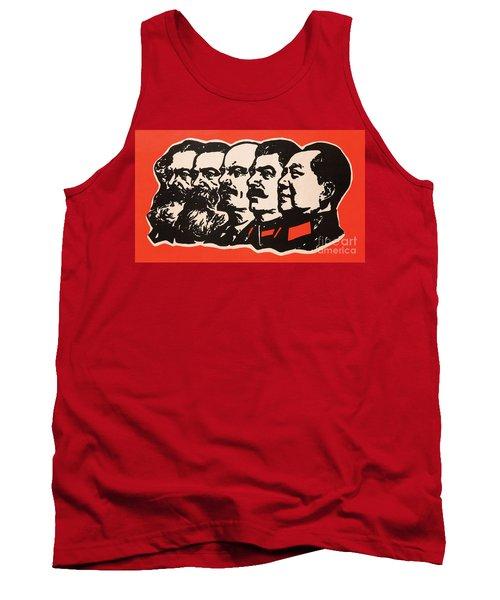 Marx Engels Lenin Stalin And Mao Tank Top