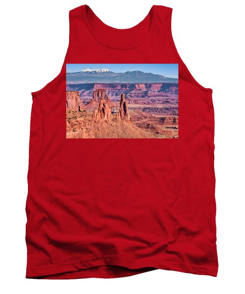 Tank Top featuring the photograph Monster Tower by Andy Crawford
