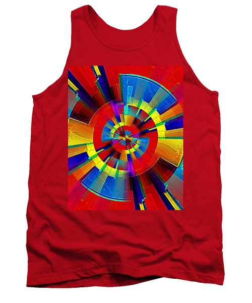 My Radar In Color Tank Top